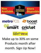 Cellphone Dealer Needed for Metro PCS Cricket Boost ATT Distritutor or Affiliate