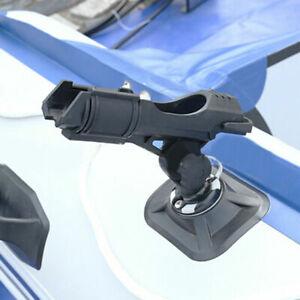 360 Grad Kajaks Schlauchboot Ständer Fischerboot Rutenhalter Nylon Angelrute