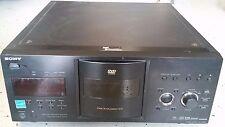 Sony DVP-CX995V DVD Player 400 Disc Explorer HDMI Black CD Changer Jukebox