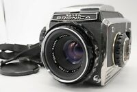 [Near MINT] Zenza Bronica S2A Camera Body + Nikkor-P 75mm f/2.8 Lens From Japan