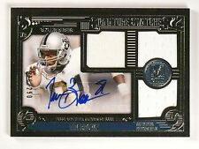 2015 Topps Museum Collection Tim Brown Triple Jersey Auto #D026/250 #SSTRTB *532