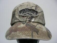 SPORTSMAN'S WAREHOUSE - CAMOUFLAGE - OSFM ADJUSTABLE BALL CAP HAT!