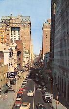 Memphis TN~Madison Avenue~B&S Cafeteria~Pen Shop~Armored Car Guard~1950s Cars