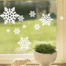 Removable Christmas Wall Sticker Snowflake Decal Ornaments New Year Party Decor