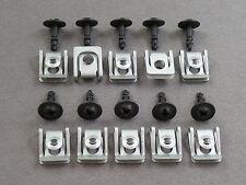Unterfahrschutz Motorschutz Einbausatz Clips für Audi A4 A5 A6 A7 A8 Q3 Q5 RS5