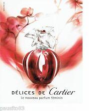 PUBLICITE ADVERTISING 116  2006   le nouveau parfum Délices de Cartier