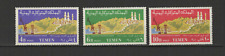 YEMEN 3 timbres neufs 1961 route Hodeida-Sana'a  /T3008