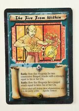 The Fire desde L5R Legend of the Within cinco anillos juego de tarjetas coleccionables Shadowlands 1996
