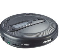 ONN Personal Portable CD Player with FM radio - plays CD, CDRW, CD-MP3