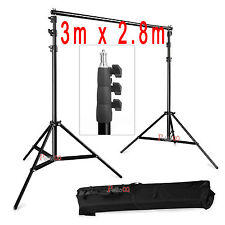 2.8m x 3m Larger Photo Studio Background Backdrop Support Stand UK POST