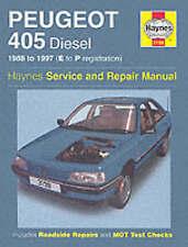 Peugeot 405 Diesel (88 - 97) E to P, Paperback by Haynes Publishing, Brand Ne...