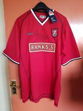 Walsall FC Home Shirt - Xara - Large (L) Signed by Paul Merson - 2004/05 Season