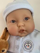 Berenguer Life Size Baby Boy Doll, 51cm (21'') Brand New & Peter Rabbit