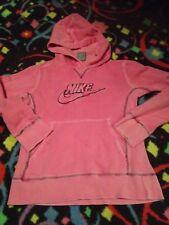 GIRLS 14 Nike Hoodie Distressed Fade Pink