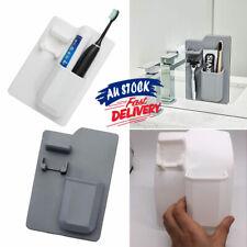 Space Toothbrush Holder Shower Organizer Silicone Bathroom Storage Razor