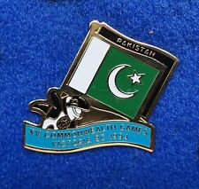 Pakistan Muslim State Colorful Country Flag ~ Orca Killer Whale Lapel Pin