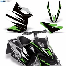 Decal Graphic Kit Ski Doo Rev XP Skidoo Sled Snowmobile Wrap Decal 2008-2012 MO