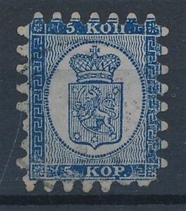 [59216] Finland 1860 Very good Used Very Fine classical stamp $275