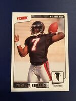 2001 Upper Deck Victory #374 MICHAEL VICK ROOKIE RC Atlanta Falcons