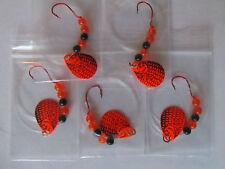 5 Spinner Rigs Leech Minnow Crawler Harness Walleye, Bass, Pike Colorado Blades