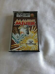 Zx Spectrum Game MANIC MINER BY BUG BYTE TESTED AND WORKING FINE