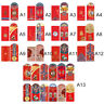 12 Pcs Wedding Chinese New Year Lucky Money Envelope Hongbao Red Packet