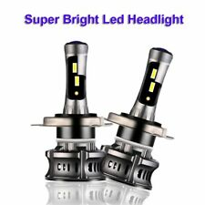 Canbus H4 HB2 LED Headlight Bulbs White High Low Beam Conversion Kit 6000K 120W