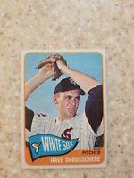 1965 TOPPS Baseball Card # 297 DAVE DeBUSSCHERE / Chicago White Sox