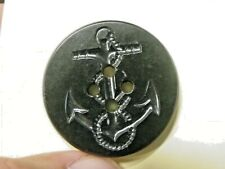 """Lot of 10 vintage Navy Pea Coat Buttons Anchor & Rope design 1&1/4"""""""
