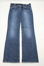 "Lucky Brand Womens Jeans Size 6 Classic Rider Boot Cut Blue Denim 30.5"" Inseam"