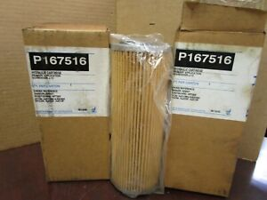NEW LOT OF 2 DONALDSON HYDRAULIC  FILTER P167516
