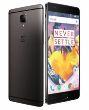 "OnePlus 3t Three A3003 5.5"" 64gb ROM 6gb RAM Unlocked Gunmetal HK Version"