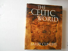 The Celtic World Barry Cunliffe, hardcover
