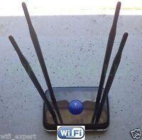 4 x 9dBi Antenna EXTREME Mod Kit Netgear N600 WNDR3400 Dual Gigabit NO SOLDER V2