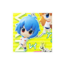 Evangelion Puchi Rei Mascot Key Chain Anime NEW