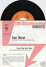CHRISTIE Iron Horse 45/GER/PIC/PROMO