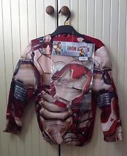 Marvel Iron Man 3 ~ Superhero Fancy Dress Up/Onesie Outfit/Costume & Mask ~ 7-8