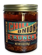 6 X Trader Joe's Chili Onion Crunch - Olive Oil, Garlic, Peppers 6 oz. Each