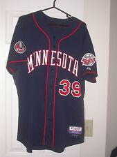 Minnesota Twins Game Used 2007 Alternate Baseball Jersey - Juan Rincon MLB Holo