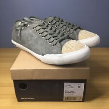SeaVess Army Issue Sneaker Low Dark Moss Suede, Men's 9 M