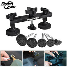 Super PDR Tool Paintless Dent Repair Dent Puller Bridge Body Removal Tooling BLK