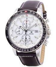 Seiko Pilots Solar Chronograph Flightmaster SSC013 SSC013P1 SSC013P Mens Watch
