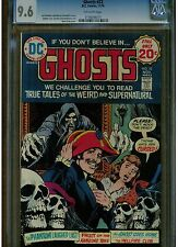 GHOSTS #32 CGC 9.6 NEAR MINT + DC COMICS 1974 OFF WHITE PAGES BLUE LABEL
