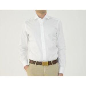 Men's Shirts Barba Napoli White Smooth I1U13P01661201U P-E 2021
