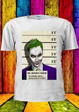 DR. Sheldon Cooper vs The Joker T-shirt Vest Tank Top Men Women Unisex 2037