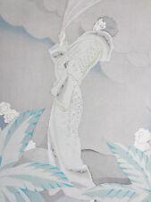 Gazette du Bon Ton Pochoir Art Deco Femme a l´Emeraude by Charles Martin - 1920