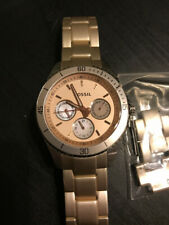 Fossil Women's Wrist Watch Soft Pink