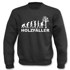 Pullover Evolution Holzfäller, Sweatshirt