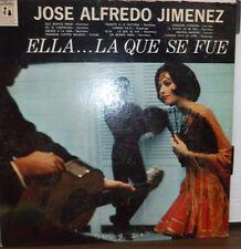 Jose Alfredo Jmenez Ella La Que Se Fue 33RPM EZ-LP1052  110516LLE