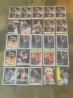 Christian Laettner Lot of 25 Base/Insert/Rookie Basketball Cards